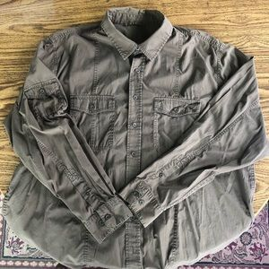 Old Navy Brow Button Down Size XXL